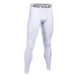 1289577-100_Legging de compression Under Armour Heatgear 2.0 blanc pour homme
