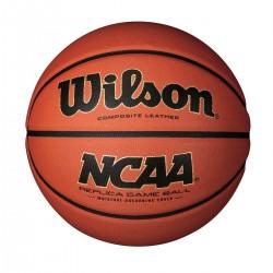 WTB0730_Ballon de Basketball Wilson NCAA Replica