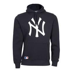 Pull à capuche MLB New York Yankees New era Team logo hoody Navy