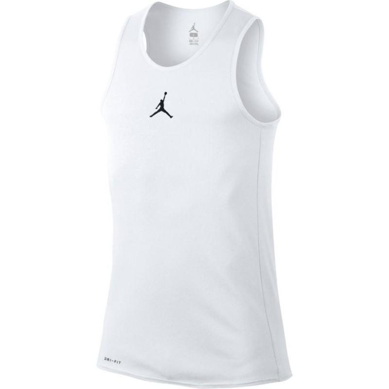 best website 70a7b 91d72 861494-100 Débardeur Jordan Rise Basketball blanc pour Homme
