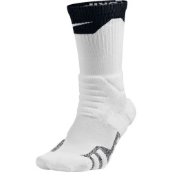 SX5367-100_Chaussettes de Basketball Nike Grip Power Crew blanc