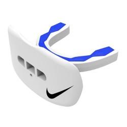 Protège dent + protège lèvre Nike Hyperflow Adulte Blanc/Bleu avec strap