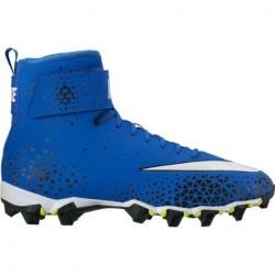 Crampons de Football Americain Nike Force Beast Shark Bleu