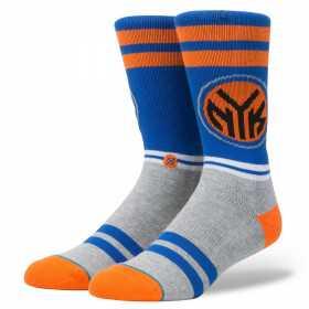 M558A17CKN_Chaussettes NBA Stance Knicks Arena City Gym bleu