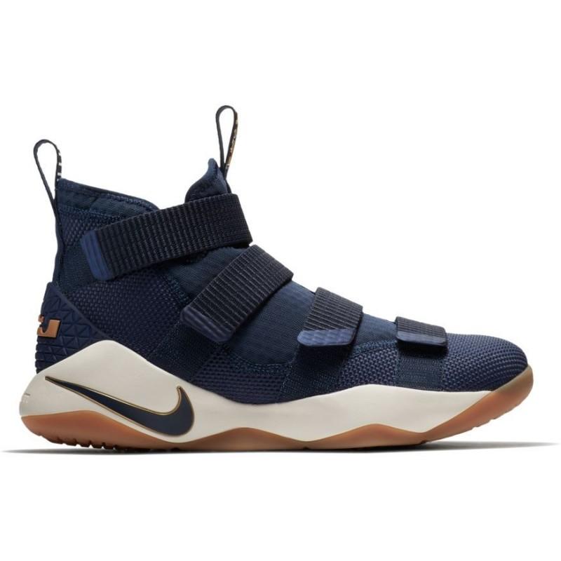 16e2a2e3adc10 Pour Ball Navy Nike Lebron Basket De Xi Homme Soldier Chaussure POF8qq