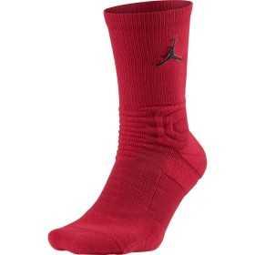 SX5854-687_Chaussette de Basket Jordan Ultimate Flight Crew rouge