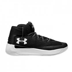 1298308-001_Chaussures de Basketball Under Armour SC 3Zero Noir Pour homme