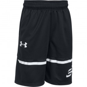 1299312-001_Short Stephen Curry Under armour SC30 Spear noir pour enfant