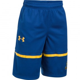 1299312-400_Short Stephen Curry Under armour SC30 Spear bleu pour enfant