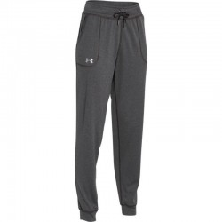 1271689-090_Pantalon Under Armour Tech Solid Gris pour femme