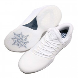 """BY4525_Chaussure de Basketball adidas James Harden Vol.1 """"Yacht Club"""" blanc pour homme"""