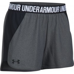 1292231-091_Short Under Armour play up 2.0 Noir Anthracite pour femme