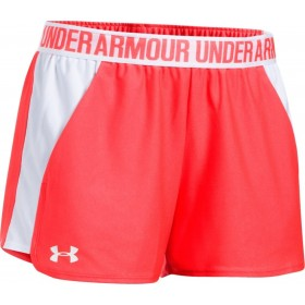 1292231-963_Short Under Armour play up 2.0 Rouge pour femme