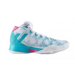 "CQ0330_Chaussure de Basketball adidas Crazy Heat W ""Title XI"" blanc pour femme"
