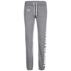 1302363-090_Pantalon Under Armour Favorite Fleece Gris pour femme