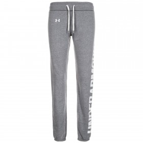 1302363-090_Pantalon Under Armour Favorite Fleece Gris pour femme