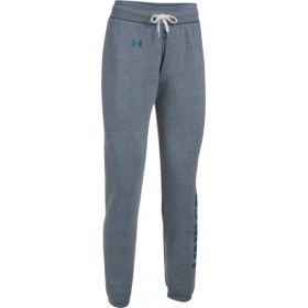 Pantalones Under Armour Favorite Fleece gris azul para mujer