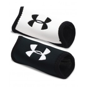 1218149-001_Under Armour Chin pad 2 pack Blanc / Noir