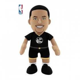 P1267_Poupluche NBA Stephen Curry Golden State Warriors Noir