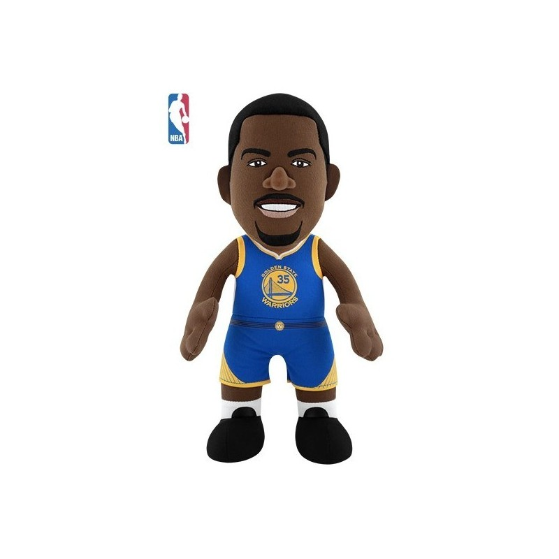 P1288_Poupluche NBA Kevin Durant Golden State Warriors Bleu