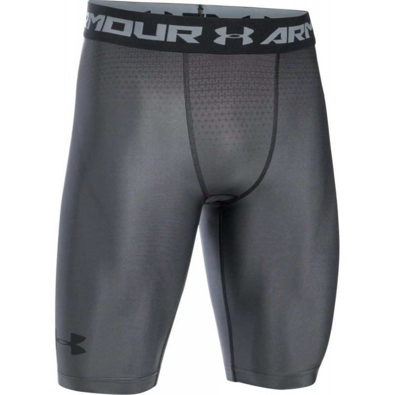 Under 1270618 de Short Armour compression 040 Charged gris homme pour FprpxIAn
