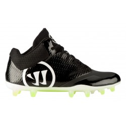 Crampons de Football Americain Warrior Burn 9 Noir