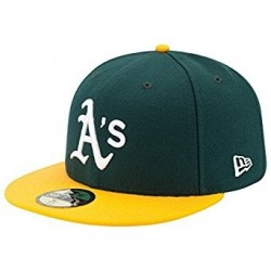 Casquette MLB Oakland Atletics New Era authentic performance 59fifty