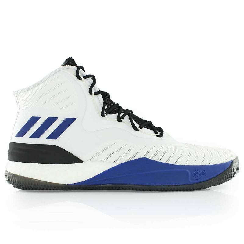 De Pour D Performance Blanc 8 Rose Adidas Basketball Adulte Chaussure dwTq8Id