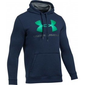 1302294-410_Sweat à capuche Under Armour Rival Fitted Graphic Hoody navy pour homme
