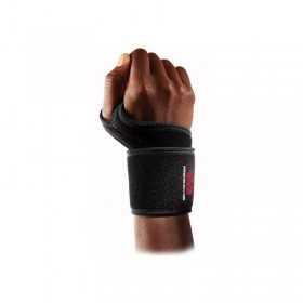 455R_Maintien poignet avec double bande velcro Mcdavid Noir