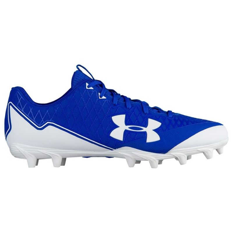 Crampons de Football Americain Under Armour Nitro Select Low MC Royal