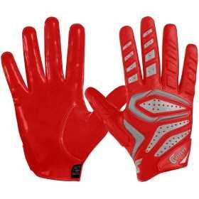 S651-01-red_Gant de Football américain Cutters The Gamer 2.0 rouge