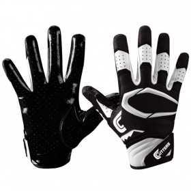 S451-01-BK_Gant de football américain Cutters S451 REV Pro 2.0 Noir pour junior