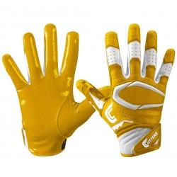 S451-10-gld_Gant de football américain Cutters S451 REV Pro 2.0 jaune pour junior