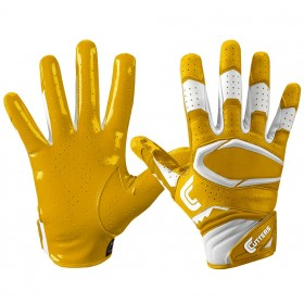 S451-10-gld_Gant de football américain Cutters S451 REV Pro 2.0 jaune pour junior