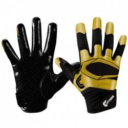 S451-S-0121-bkgd_Gant de football américain Cutters S451 REV pro 2.0 Special Edition Noir Or