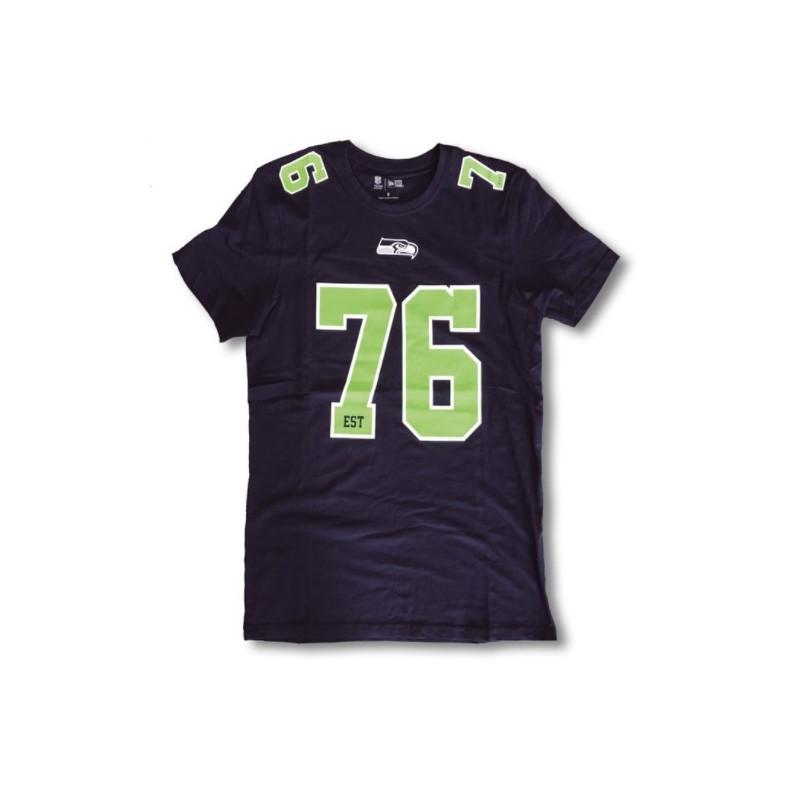 T Shirt Nfl Seattle Seahawks Number Classic New Era