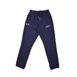 1304449-410_Pantalon Under Armour SC30 Spear Navy pour enfant