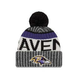 Bonnet NFL On Field  Baltimore Ravens 2017 New Era Gris / Violet