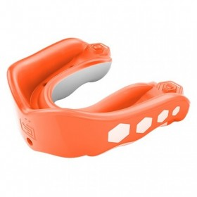 6333A_Protège dents Shock Doctor Gel Max Flavor fusion avec strap Goût orange