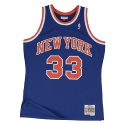 195653_Maillot NBA swingman Magic Patrick Ewing New York Knicks Hardwood Classics Mitchell & ness bleu