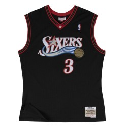 Mitchell & ness Hardwood Classics NBA Jersey Allen Iverson Philadelphie Sixers 2000-01 black