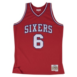 111111_Maillot NBA swingman Julius Erving Philadelphie Sixers Hardwood Classics Mitchell & ness Rouge