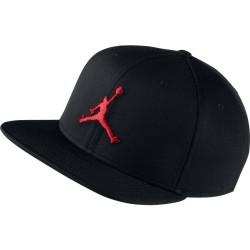 861452-011_Casquette Jordan Jumpman Snapback Noir rouge
