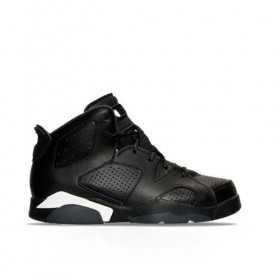 384666-020_Chaussure Air Jordan 6 Retro BP noir Pour Junior