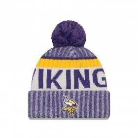 11460391_Bonnet NFL On Field Minnesota Vikings 2017 New Era Sideline Violet