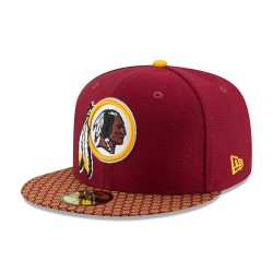 11462060_Casquette NFL Washington Redskins New Era On Field 2017 59FIFTY rouge