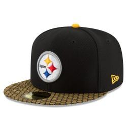11462068_Casquette NFL Pittsburgh Steelers New Era On Field 2017 59FIFTY Noir