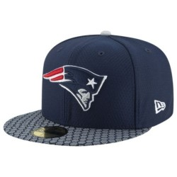 11462075_Casquette NFL New England Patriots New Era On Field 2017 59FIFTY bleu