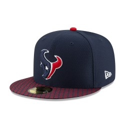 11462085_Casquette NFL Houston Texans New Era On Field 2017 59FIFTY navy